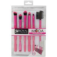 Moda® Beautiful Eyes Pink Brush Kit 7 db - Smink ecset készlet