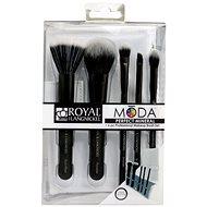 Moda® Perfect Mineral Black Brush Kit 6 db - Smink ecset készlet
