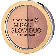 MAX FACTOR Miracle Glow Duo Pro Illuminator 20 Medium 11 g - Púder