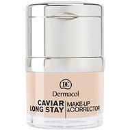 DERMACOL Caviar Long Stay Make-Up & Corrector No.0,0 Ivory 30 ml - Alapozó