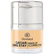 DERMACOL Caviar Long Stay Make-Up & Corrector No.0,5 Sand 30 ml - Alapozó