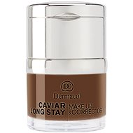 DERMACOL Caviar Long Stay Make-Up & Corrector No.6 Dark Chocolate 30 ml - Alapozó