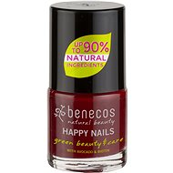 BENECOS Happy Nails Green Beauty & Care Cherry Red 5 ml - Körömlakk