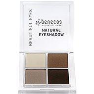 BENECOS BIO Eyeshadow Coffee & Cream 8 g - Szemfesték paletta