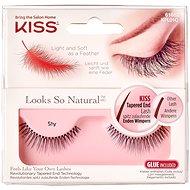 KISS Look So Natural Lash - Shy - Ragasztható műszempilla