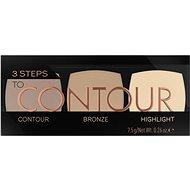 CATRICE 3 Steps To Contour Palette 010 7,5 g - Kontúrozó paletta