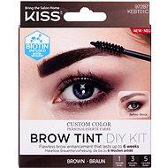KISS Brow Tint Kit - Brown - Szempillaspirál