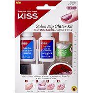 KISS Salon Dip Glitter Kit - Műköröm