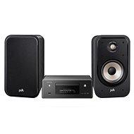 DENON CEOL RCD-N11 DAB fekete + Polk Audio Signature S20e fekete - Szett