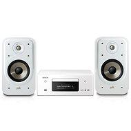 DENON CEOL RCD-N11 DAB White + Polk Audio Signature S20e White - Szett