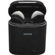 Denver TWE-36 fekete - Vezeték nélküli fül-/fejhallgató