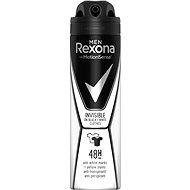 REXONA MEN Invisible On Black + White Clothes 150 ml - Férfi izzadásgátló