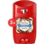 OLD SPICE WolfThorn 3 × 50 ml - Férfi dezodor