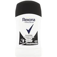 REXONA Invisible Black+White 40 ml - Női izzadásgátló