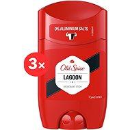 OLD SPICE Lagoon 3 × 50 ml - Férfi dezodor