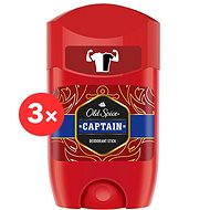 OLD SPICE Captain 3× 50 ml - Férfi dezodor