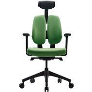 3DE DUOrest Butterfly - zöld - Irodai szék