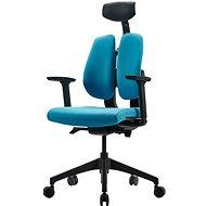 3DE DUOrest Butterfly - kék - Irodai szék