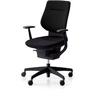 3DE ING Glider 360 ° fekete - kárpitozott - Irodai szék