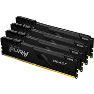 Kingston FURY 32GB KIT DDR4 2666MHz CL16 Beast Black - RAM memória