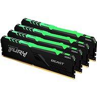 Kingston FURY 64GB KIT DDR4 3200MHz CL16 Beast RGB - RAM memória