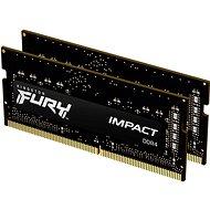 Kingston FURY SO-DIMM 32GB KIT DDR4 2666MHz CL15 Impact 1Gx8 - RAM memória