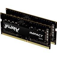Kingston FURY SO-DIMM 32GB KIT DDR4 3200MHz CL20 Impact 1Gx8 - RAM memória