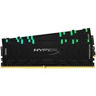 Rendszermemória HyperX 64GB KIT DDR4 3600MHz CL18 Predator RGB