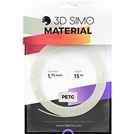 3DSimo filament PETG / PLA - fehér 15m - 3D nyomtató szál
