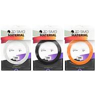 3DSimo filament ABS II - narancssárga, fekete, fehér 15m - Nyomtatószál 3D tollhoz