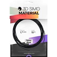 3DSimo filament NYLON - fekete 15m - 3D nyomtató szál
