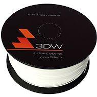 3D World PLA 1,75 mm 1kg fehér - 3D nyomtató szál
