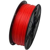 Gembird Filament PLA fluoreszkáló piros - 3D nyomtató szál