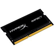 Kingston SO-DIMM 4GB DDR3L 1600MHz HyperX Impact CL9 Dual Voltage Black Series - Rendszermemória