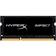 HyperX SO-DIMM 8 GB-os DDR3L 1866MHz Impact CL11 fekete sorozat - Rendszermemória