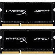 HyperX SO-DIMM 16 GB KIT DDR3L 1866MHz Impact CL11 fekete sorozat - Rendszermemória