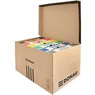 DONAU felül nyitható, barna - Archiváló doboz