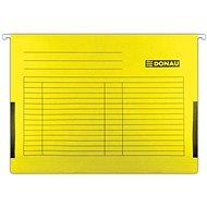 DONAU oldalpanelekkel A4, sárga - 5 db-os csomagolás