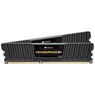 Corsair 8GB KIT DDR3 1600MHz CL9 Vengeance LP fekete színű - Rendszermemória