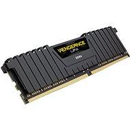 Corsair 8GB DDR4 2666MHz CL16 Vengeance LPX - fekete - Rendszermemória