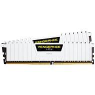 Corsair 16GB KIT DDR4 3000MHz CL15 Vengeance LPX fehér - Rendszermemória