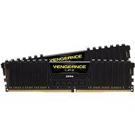 Corsair 32GB KIT DDR4 3200MHz CL16 Vengeance LPX, fekete - Rendszermemória