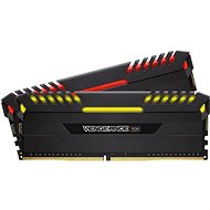 Corsair 16 GB KIT DDR4 2666MHz C16 Vengeance RGB Series - Rendszermemória