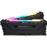 Corsair 64GB KIT DDR4 3200MHz CL16 Vengeance RGB PRO - fekete - Rendszermemória
