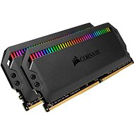 Corsair 16GB KIT DDR4 3600MHz CL18 Dominator Platinum RGB fekete - Rendszermemória