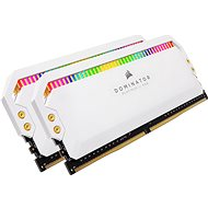 Corsair 32GB KIT DDR4 4000MHz CL19 Dominator Platinum RGB White - Rendszermemória