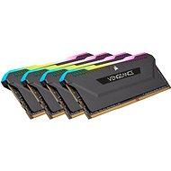Rendszermemória Corsair 128GB KIT DDR4 3200MHz CL16 VENGEANCE RGB PRO SL Black