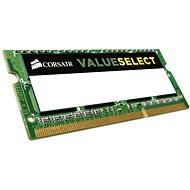 Corsair SO-DIMM 8 GB DDR3 1333MHz CL9 - Rendszermemória