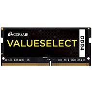 Corsair SO-DIMM 4GB KIT DDR4 2133MHz CL15 ValueSelect fekete - Rendszermemória