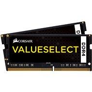 Corsair SO-DIMM 32GB KIT DDR4 2133MHz CL15 ValueSelect - Rendszermemória